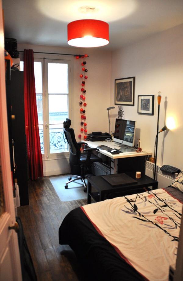 echange appartement paris france ref 8796. Black Bedroom Furniture Sets. Home Design Ideas